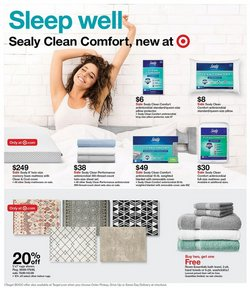 Sheet deals in Target
