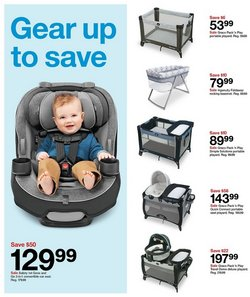 Graco deals in Target