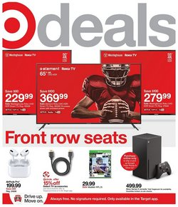 Department Stores offers in the Target catalogue in Massillon OH ( 4 days left )