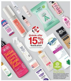 Shampoo deals in Target