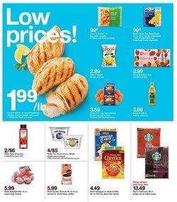 Coffee deals in Target