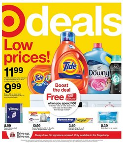 Department Stores offers in the Target catalogue ( Expires today )