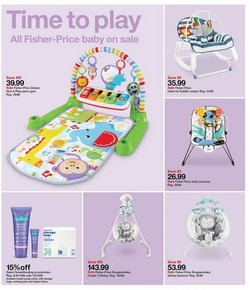 Fisher-Price deals in Target