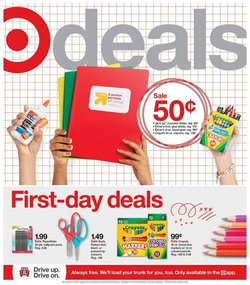 Department Stores deals in the Target catalog ( 2 days left)
