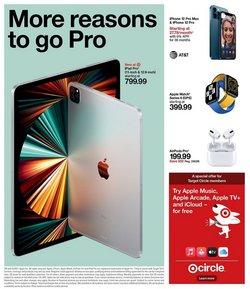 Apple deals in the Target catalog ( 3 days left)