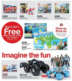LEGO deals in the Target catalog ( Expires today)