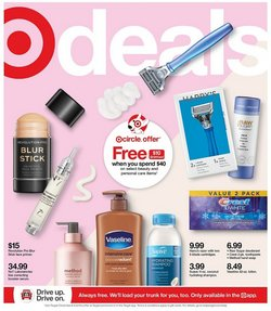 Department Stores deals in the Target catalog ( Published today)