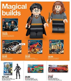 LEGO deals in the Target catalog ( 5 days left)