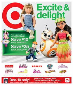 Department Stores deals in the Target weekly ad in New York
