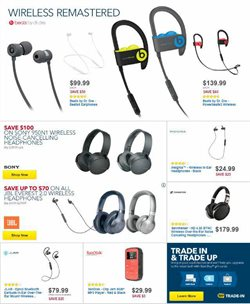 Headphones deals in the Best Buy weekly ad in Ridgewood NY