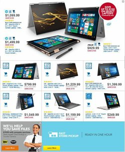 Laptop deals in the Best Buy weekly ad in Erie PA