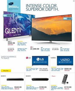 TV deals in the Best Buy weekly ad in New York
