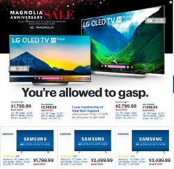 Electronics & Office Supplies deals in the Best Buy weekly ad in Santa Clara CA