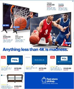 Toshiba deals in the Best Buy weekly ad in New York