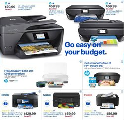 HP deals in the Best Buy weekly ad in New York