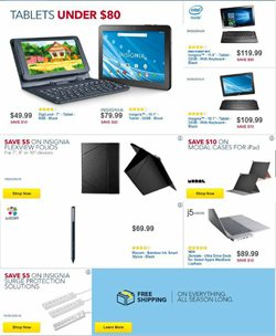 Tablet deals in the Best Buy weekly ad in Johnstown PA