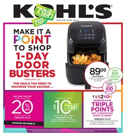 Department Stores deals in the Kohl's weekly ad in Fontana CA
