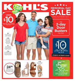 Department Stores deals in the Kohl's weekly ad in New York