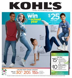 Department Stores deals in the Kohl's weekly ad in Bessemer AL