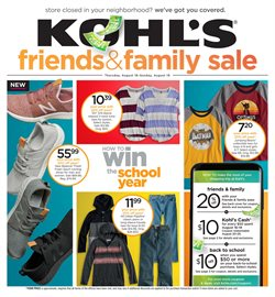 Kohl's deals in the Roswell GA weekly ad