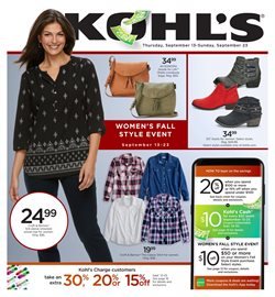 Department Stores deals in the Kohl's weekly ad in Tucson AZ