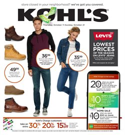 Department Stores deals in the Kohl's weekly ad in Livonia MI