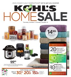 Kohl's deals in the Sioux Falls SD weekly ad