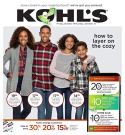 Kohl's deals in the Yorba Linda CA weekly ad