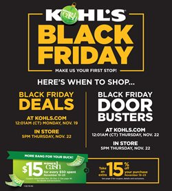 Kohl's deals in the East Lansing MI weekly ad