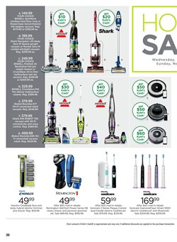 Remington deals in the Kohl's weekly ad in Springfield MO