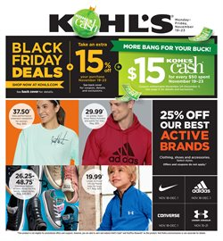 Department Stores deals in the Kohl's weekly ad in Mcallen TX