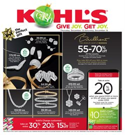 Kohl's deals in the Antioch CA weekly ad