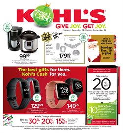 Department Stores deals in the Kohl's weekly ad in Flushing NY