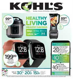 Department Stores deals in the Kohl's weekly ad in Federal Way WA