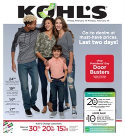 Kohl's deals in the New York weekly ad