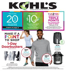 Department Stores deals in the Kohl's weekly ad in Concord CA