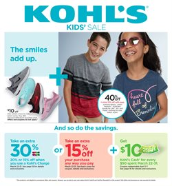 Kohl's deals in the Bothell WA weekly ad