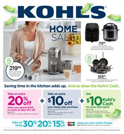 Kohl's deals in the Mission TX weekly ad