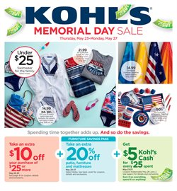 Department Stores deals in the Kohl's weekly ad in Oklahoma City OK