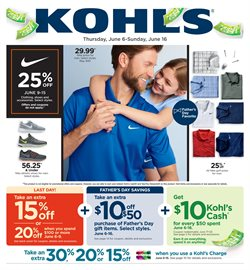 Department Stores deals in the Kohl's weekly ad in Pontiac MI