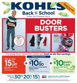 Department Stores deals in the Kohl's weekly ad in Erie PA