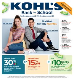 Kohl's deals in the Cedar Rapids IA weekly ad