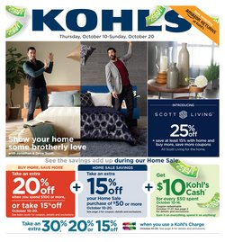 Department Stores deals in the Kohl's weekly ad in Sugar Land TX