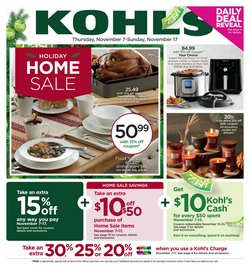 Kohl's deals in the Atlanta GA weekly ad