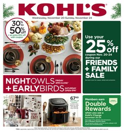 Department Stores deals in the Kohl's weekly ad in Washington-DC