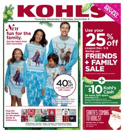 Department Stores deals in the Kohl's weekly ad in Levittown PA