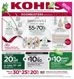 Department Stores deals in the Kohl's weekly ad in Mansfield OH