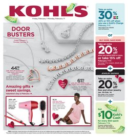 Kohl's catalogue in Houston TX ( Expires tomorrow )