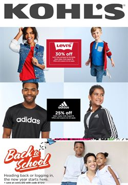 Department Stores offers in the Kohl's catalogue in Pontiac MI ( 8 days left )