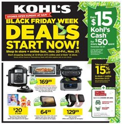 Department Stores offers in the Kohl's catalogue in Mentor OH ( Published today )
